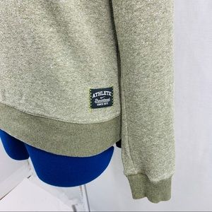 Nike Olive Green Wide Crew Neck sweatshirt